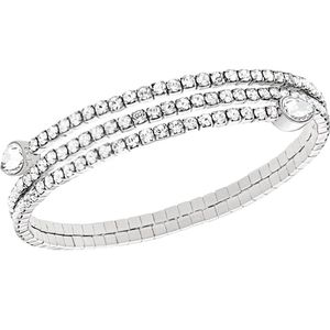 NWB Swarovski Twisty Cuff Drop Cry Bracelet